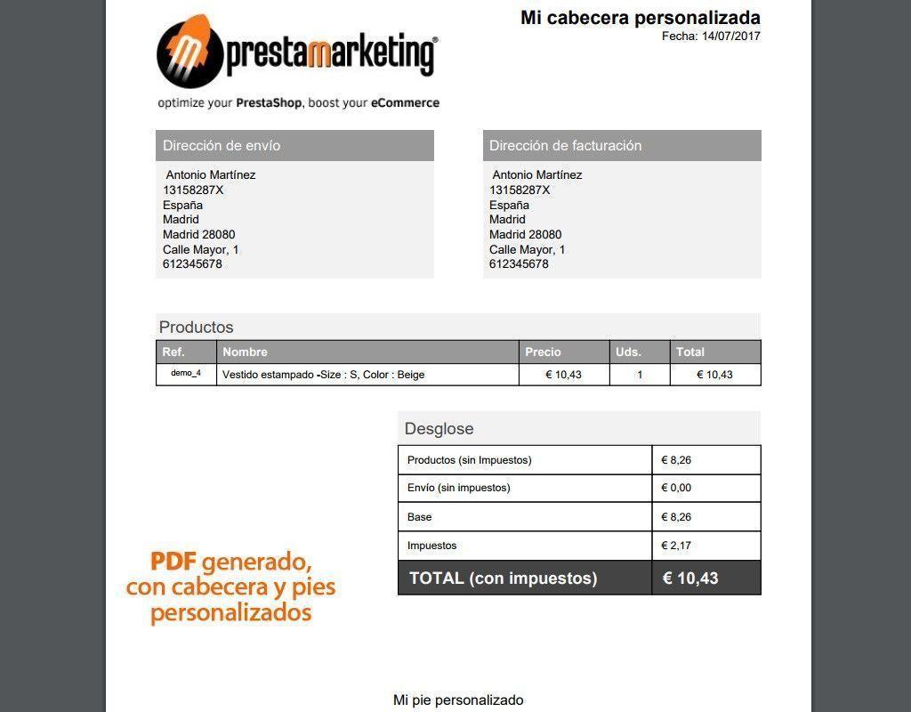 Presupuesto de compras pdf files