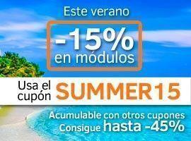 Cupón de verano -15%